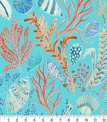 "Dena Designs Outdoor Fabric 13x13"" Swatch-Sun Dream Reef"