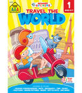 Adventure Workbook Tablets-Travel The World - Ages 6-7