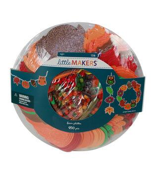Little Makers Thanksgiving 950 pk Foam Platters