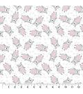 Nursery Flannel Fabric-Wood Bears