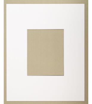 Photo Mat 16'X20 to 8X10-White