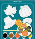 Little Makers Plaster Magnets-Thanksgiving