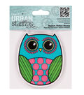 Papermania Cling Urban Stamp 4\u0022X4\u0022-Owl