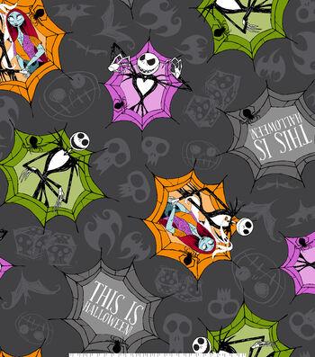 "Nightmare Before Christmas Halloween Fleece Fabric 59""-This Is Halloween"