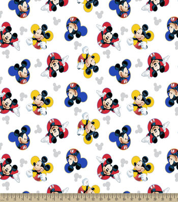 Disney Mickey Print Fabric-The One & Only