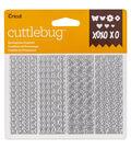 Cricut Cuttlebug Pack of 4 Confetti Dies-Springtime