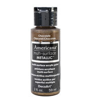 DecoArt Americana Multi-Surface Satin Acrylic Paint-Chocolate, , hi-res