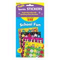 School Fun Sparkle Stickers Variety Pack 648 Per Pack, 2 Packs