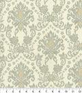 Waverly Upholstery Fabric 54\u0022-Tailored Romance Smoke