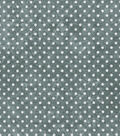 Keepsake Calico Cotton Fabric 43\u0022-Dot Texture Gray