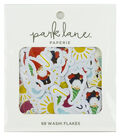 Park Lane Washi Flakes 68/Pkg-Rain or Shine