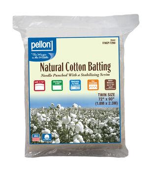 """Pellon Nature's Touch Cotton Batting 72""""x90"""""""