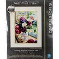 Dimensions Gold 11\u0027\u0027x14\u0027\u0027 Counted Cross Stitch Kit-Summer Bouquet