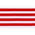 Simplicity Trims-2\u0022 Cotton Thin Stripe Red White