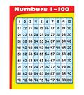Carson-Dellosa Numbers 1-100 Chart 6pk