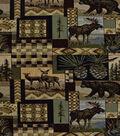 Lightweight Decor Fabric-Regal Fabrics Peters Cabin Stone