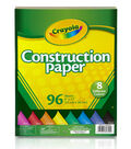 Crayola Construction Paper Pad 9\u0022X12\u0022-96 Sheets
