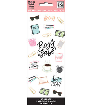 The Happy Planner Stickers-Boss Babe