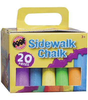 Jumbo Sidewalk Chalk 20/Pkg