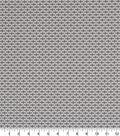 Robert Allen @ Home Print Swatch 55\u0022-Dash Motifs Greystone