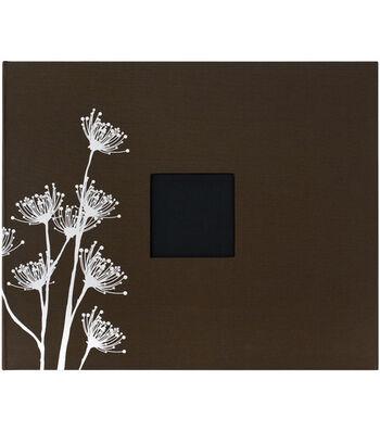 American Crafts 12''x12'' 3-Ring Album-Chestnut