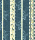 Waverly Lightweight Decor Fabric 57\u0022-Tea Lane Chambray