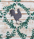 Christmas Cotton Fabric 43\u0022-Holiday Roosters On Wood