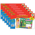 Pete the Cat Groovy Birthday Bookmark Awards, 30 Per Pack, 6 Packs