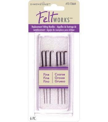 Dimensions Replacement Felting Needles