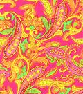 Swim Print Fabric-Foulard Bright
