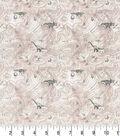 Premium Prints Cotton Fabric 43\u0022-Topographic Dinosaur Map