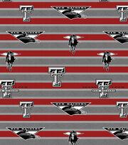 "Texas Tech University Red Raiders Fleece Fabric 58""-Polo Stripe, , hi-res"