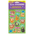 Thoughtful Sloths Sparkle Stickers-Large 32 Per Pack, 6 Packs