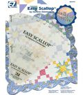 Wrights Easy Scallop Quilting Ruler