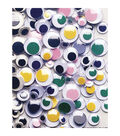 Peel & Stick Wiggle Eyes Assorted 7mm to 15mm 100/Pkg-Assorted Colors