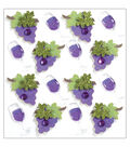 Jolee\u0027s Mini Repeats Stickers-Wine Glass and Grapes