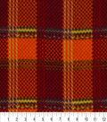 Anti-Pill Fleece Fabric 59\u0022-Autumn Plaid
