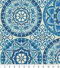 P/K Lifestyles Outdoor Fabric 54\u0022-Color Wheel Indigo