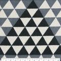 Luxe Fleece Fabric-Cream Diamond Heather