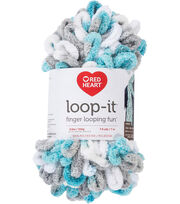 Red Heart Loop-It Yarn, , hi-res