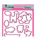 Pink & Main Dies-Wild Thing