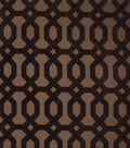 Home Decor 8\u0022x8\u0022 Fabric Swatch-Jaclyn Smith Formal  Cocoa