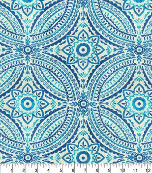 "Kelly Ripa Home Outdoor Fabric 54""-Blissfulness Indigo"