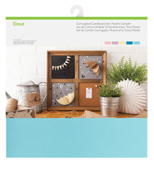 Cricut Corrugated Cardboard-Pastels