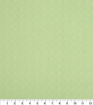 Keepsake Calico Cotton Fabric -Tiny Vine Green