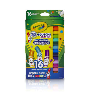 Crayola 16 ct. Pip-Squeaks Skinnies Washable Markers