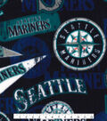Seattle Mariners Fleece Fabric-Vintage