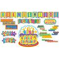 Color My World Spanish Welcome/Class Organization Bulletin Board Set