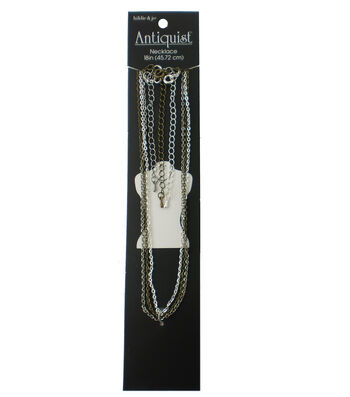 hildie & jo Antiquist 3 Pack 18'' Necklaces-Multi
