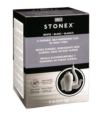 Stonex 80 oz Self-Hardening Clay-White